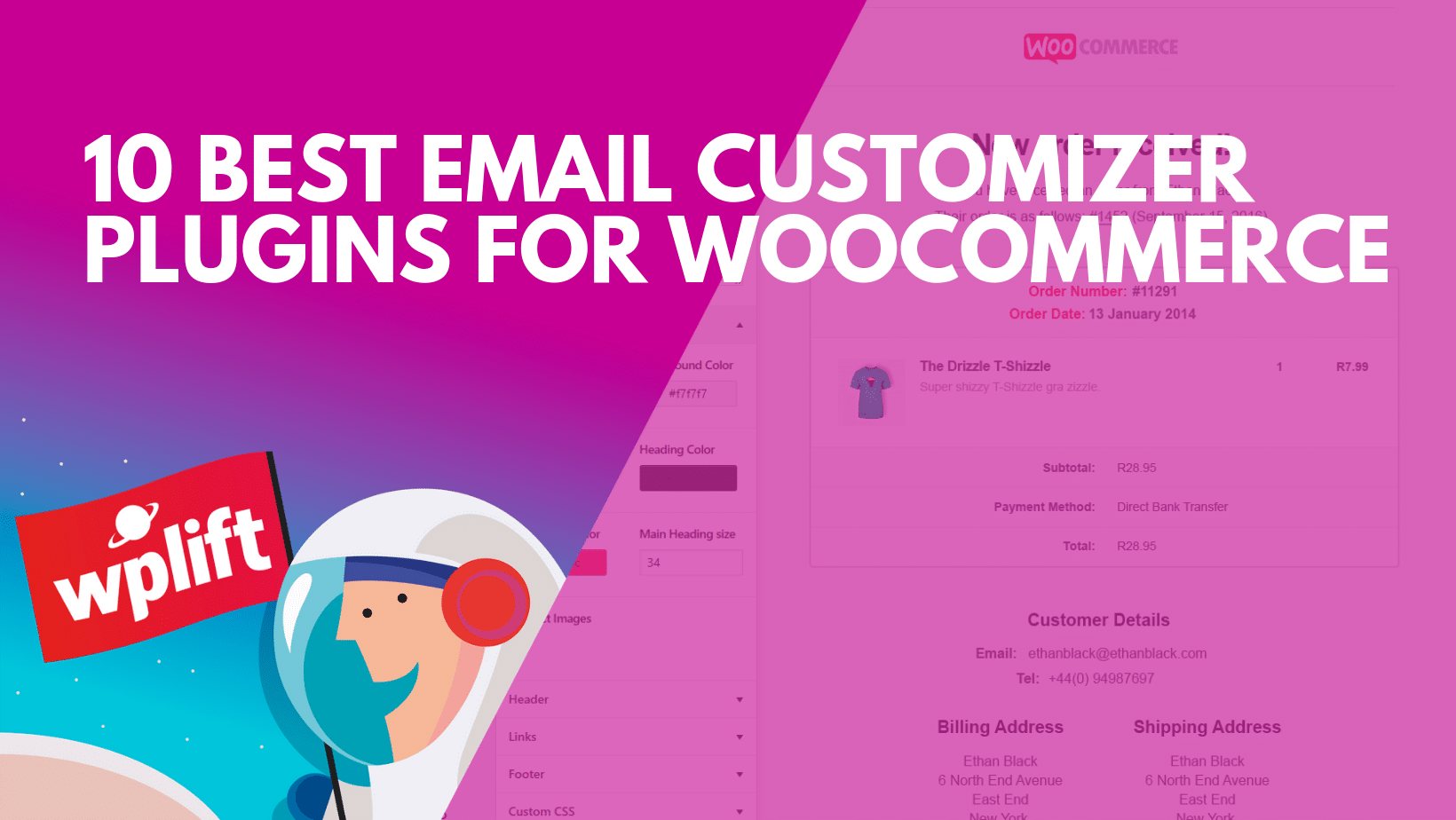 Top 10 Email Customizer Plugins for WooCommerce