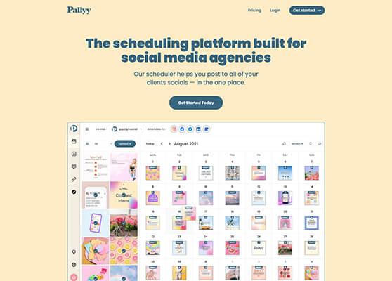 Pallyy New Homepage