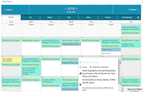 6 Best WordPress Event Calendar Plugins (You Can Even Sell ...