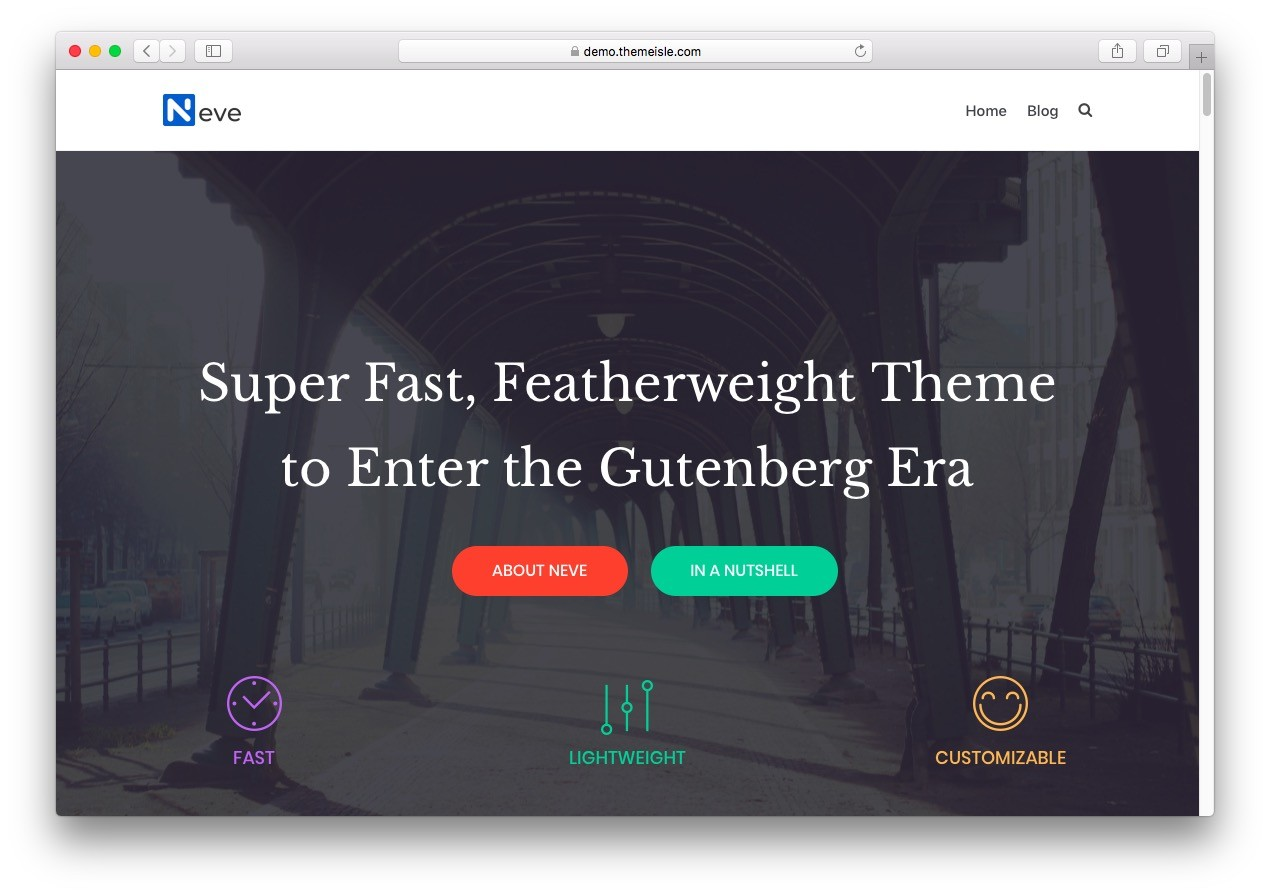 We Planned Not to Build Another New Theme Ever Again
