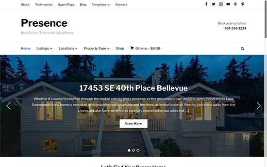 19 Best Real Estate WordPress Themes for Realtors (2019) - WordPress