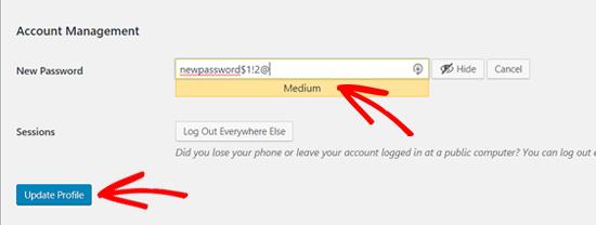 How to Change Your Password in WordPress (Beginner's Guide)