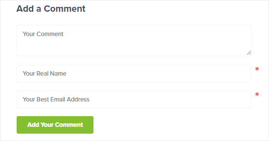 How to Remove Website URL Field from WordPress Comment Form
