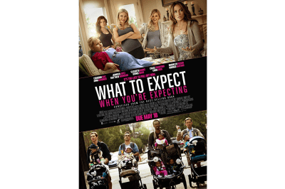 The all-star cast from What to Expect When You're Expecting