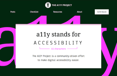 The A11Y Project