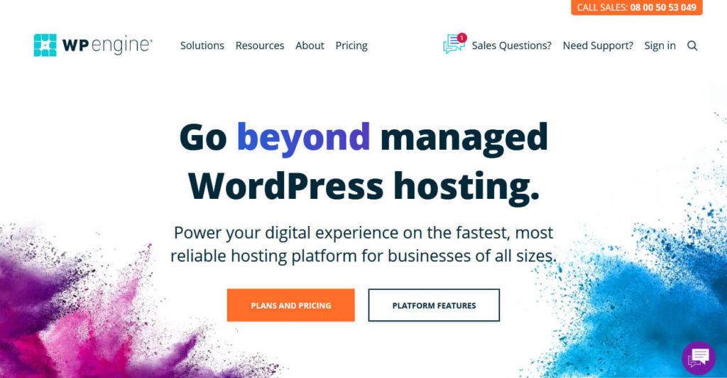 wp engine headless wordpress hosting