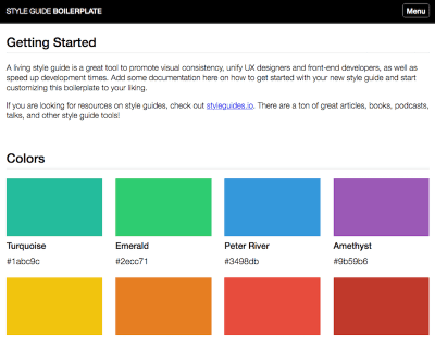 Promote consistency and modular thinking with a style guide
