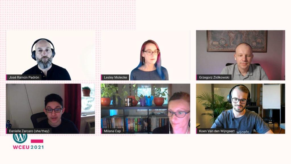 discussion panel full site editing