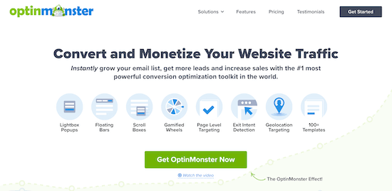 OptinMonster WooCommerce popup