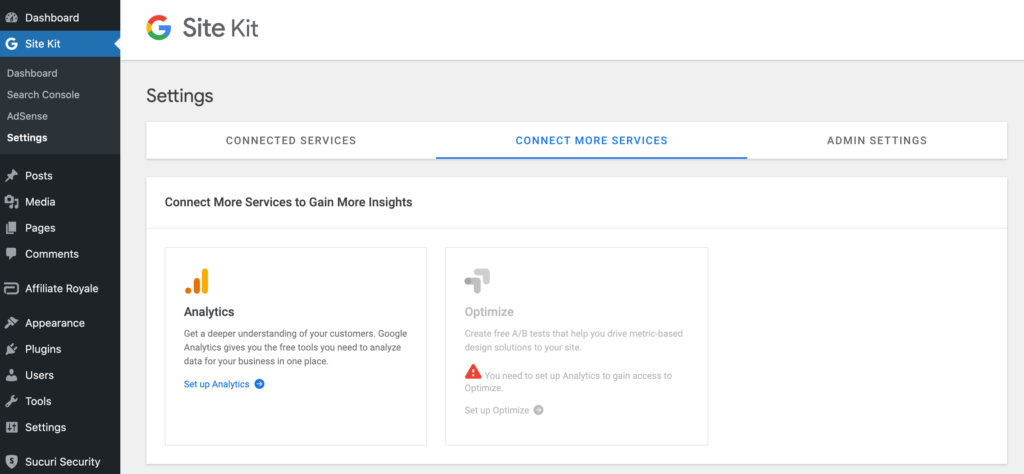 Measuring your Google AdSense traffic with the Site Kit plugin.