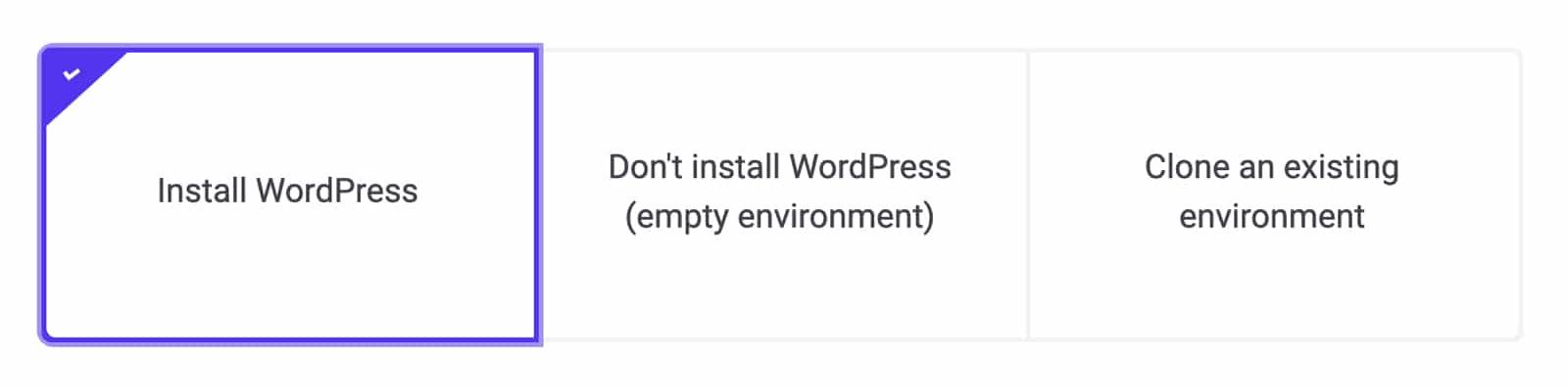 Installing WordPress on Kinsta