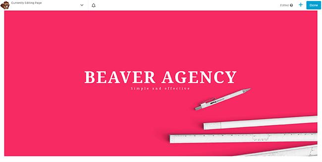 06 beaver builder agency