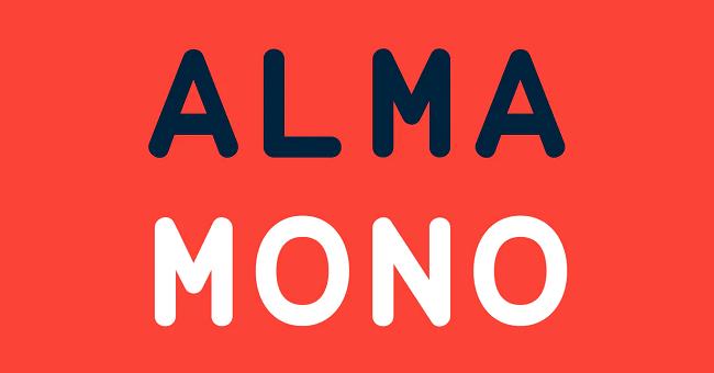 Alma Mono Monospaced Font