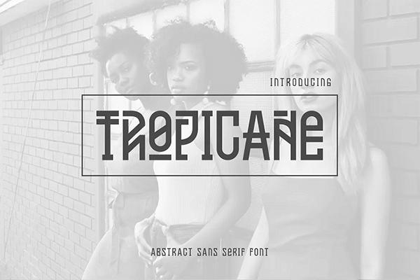 Tropicane Monospaced Font