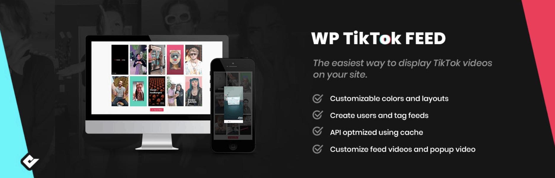 The WP TikTok Feed plugin.