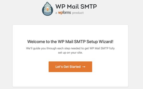 WP Mail SMTP Setup Wizard