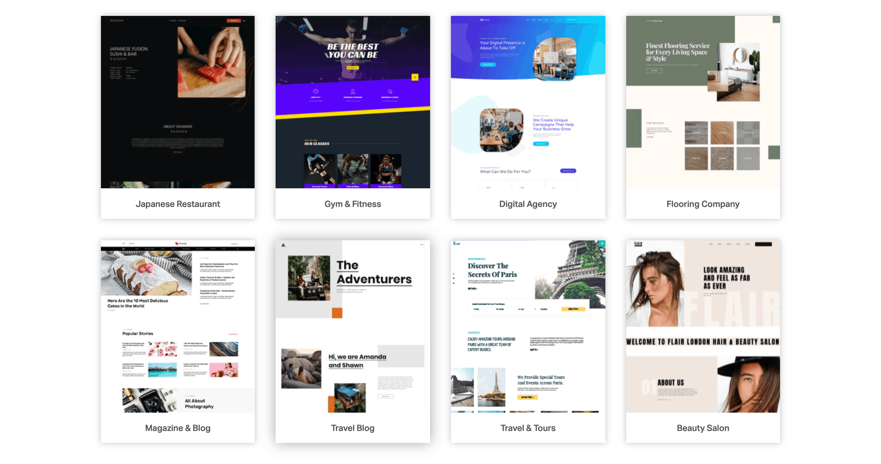 Elementor's Template Library.