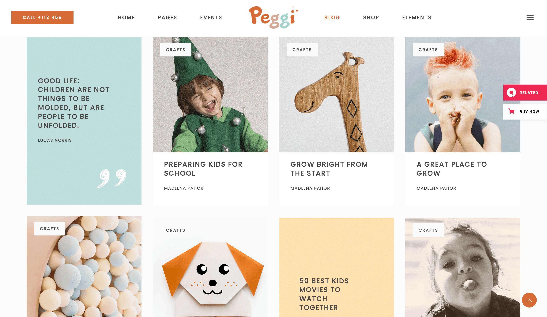 The Peggi theme.