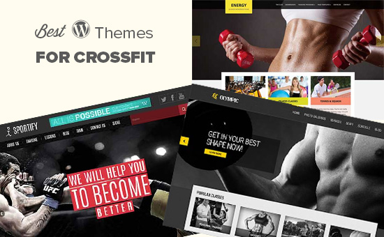 25 Best WordPress Themes for Crossfit (2019)