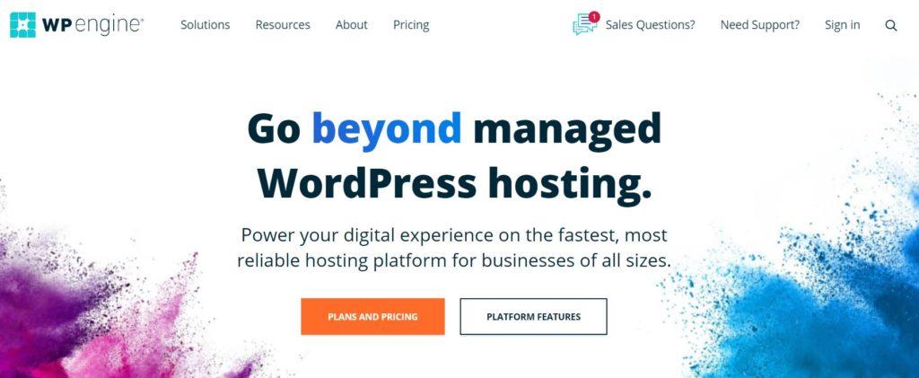 Many hosting providers offer managed hosting plans for WordPress sites.
