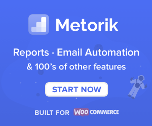 metorik woocommerce reports