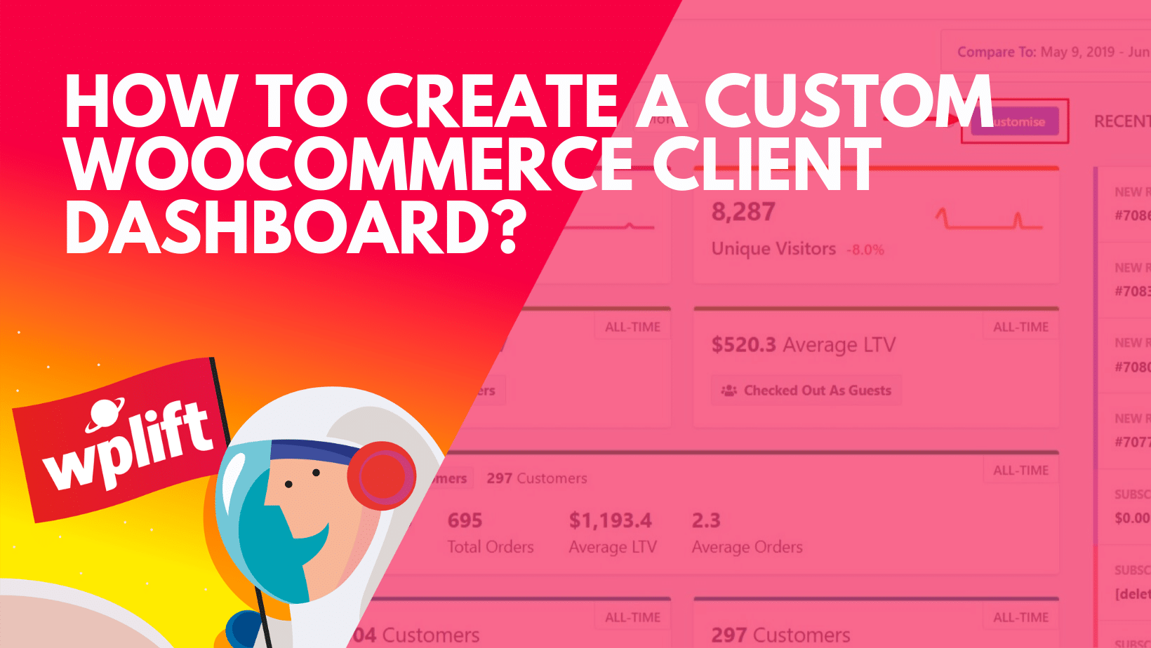 WooCommerce Client Dashboard – Set Up a Sales Dashboard For Clients