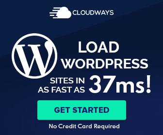 Load wordpress FAST Cloudways