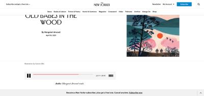 The New Yorker's website