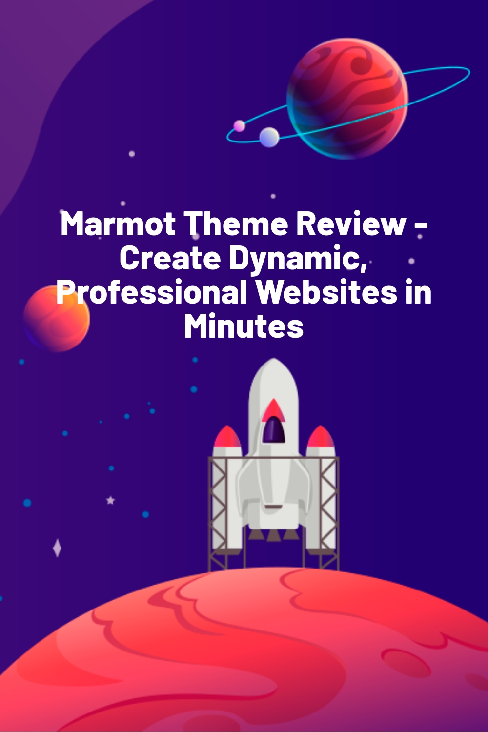 Marmot Theme Review – Create Dynamic, Professional Websites in Minutes