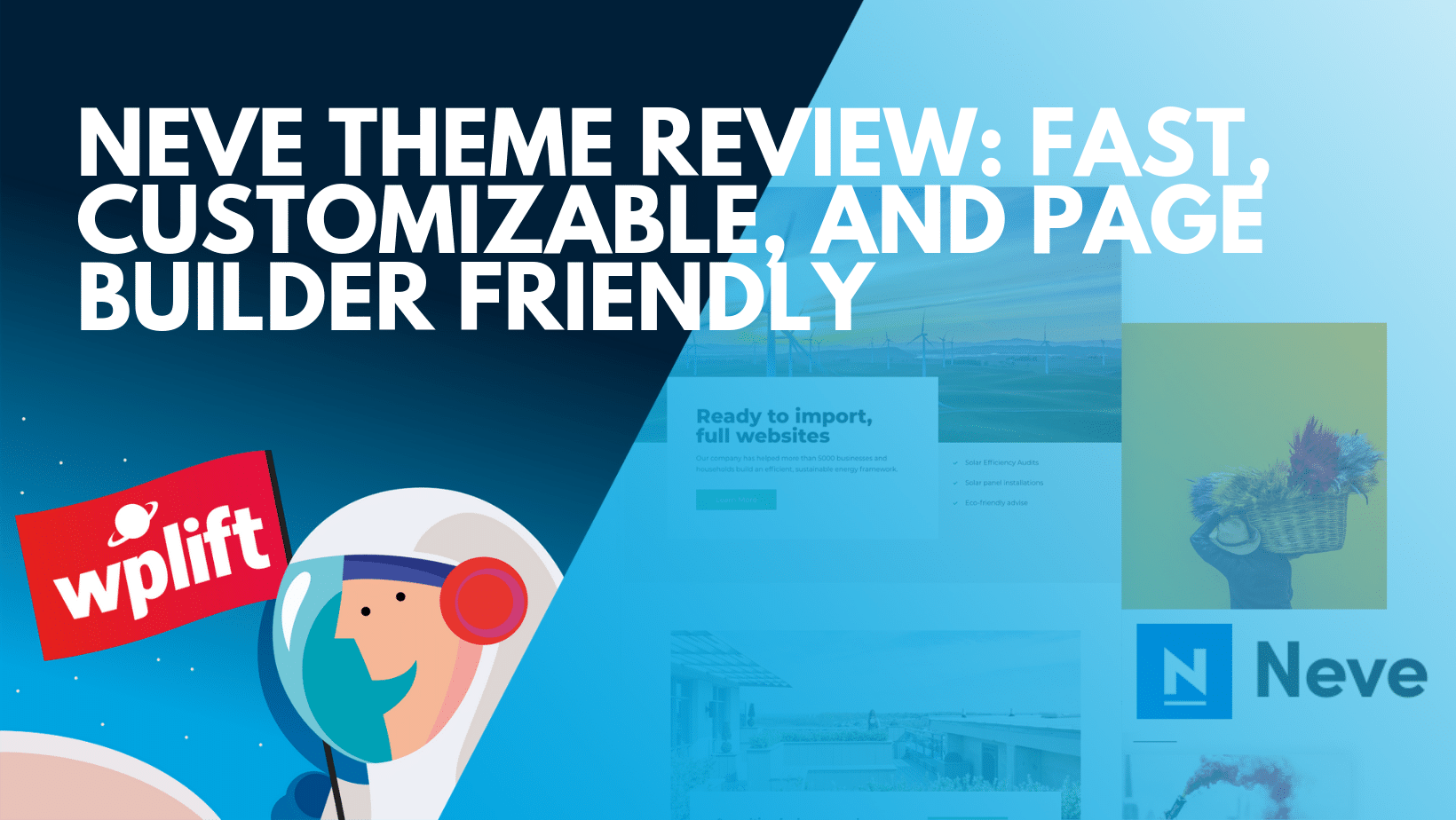 Fast, Customizable, and Page Builder Friendly
