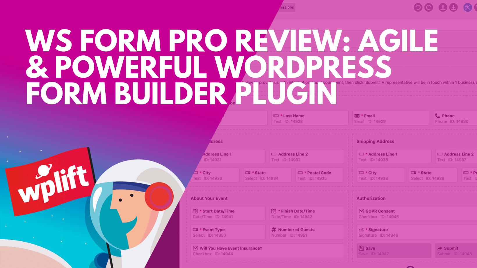 Agile & Powerful WordPress Form Builder Plugin