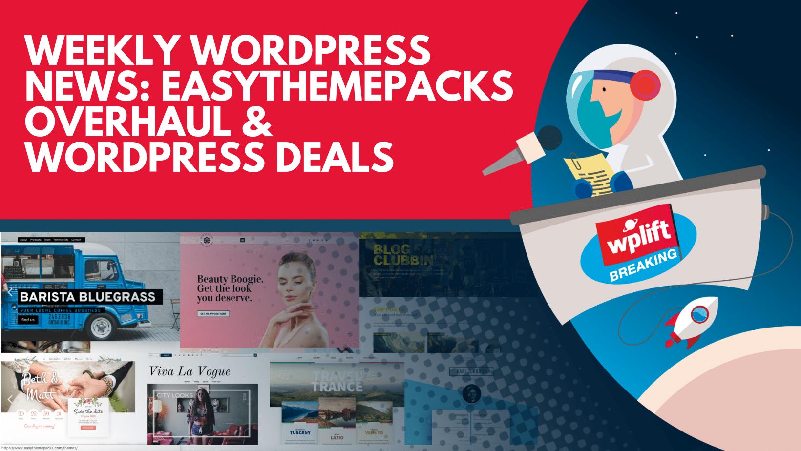 EasyThemePacks Overhaul & Deals and a Massive Divi Update