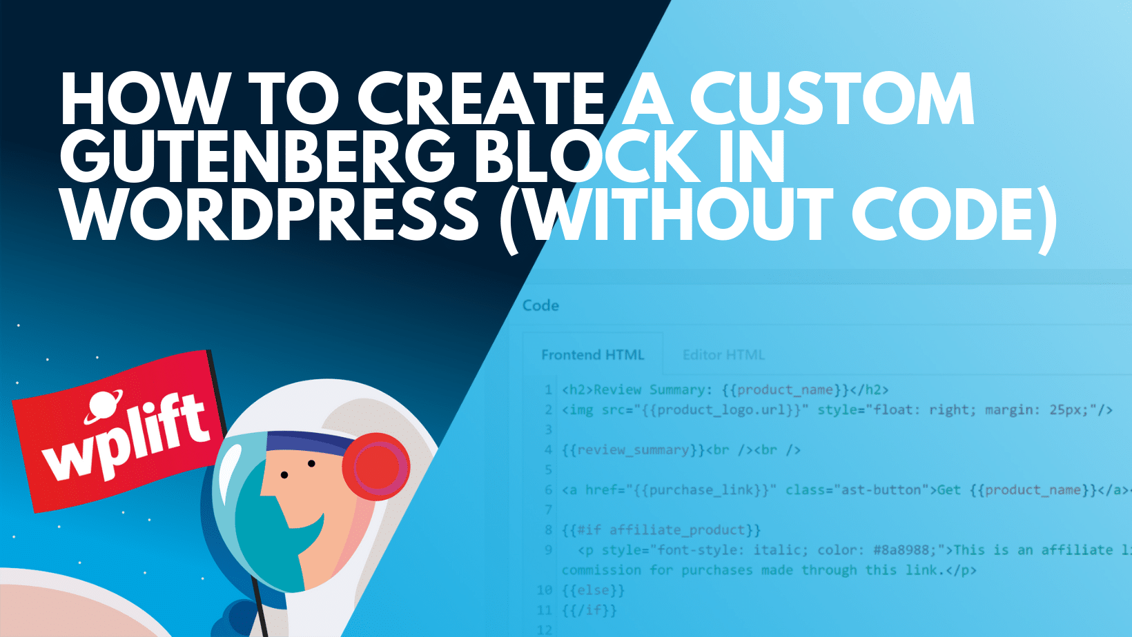 How to Create a Custom Gutenberg Block in WordPress (Without Code)