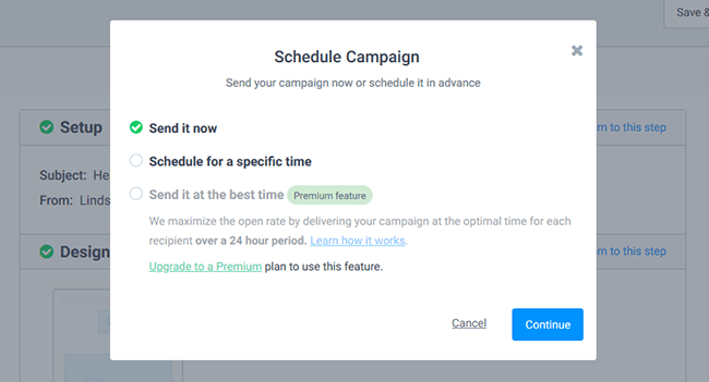 How To Send Your First Email Newsletter With SendinBlue