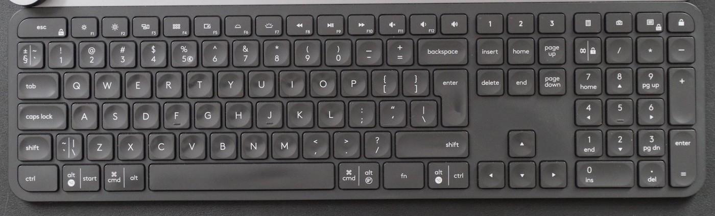 best mac keyboards #1: logitech mx keys