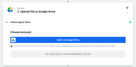 How to Upload Files from a WordPress Form to Google Drive