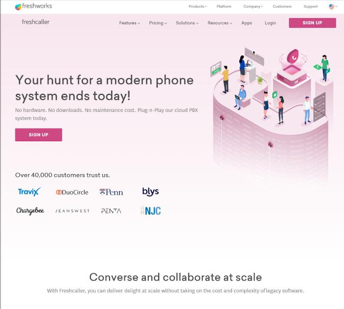 Best call center software: Freshcaller
