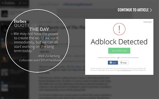 How to Detect AdBlock Users in WordPress