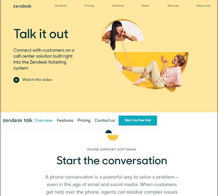 Best call center software: Zendesk