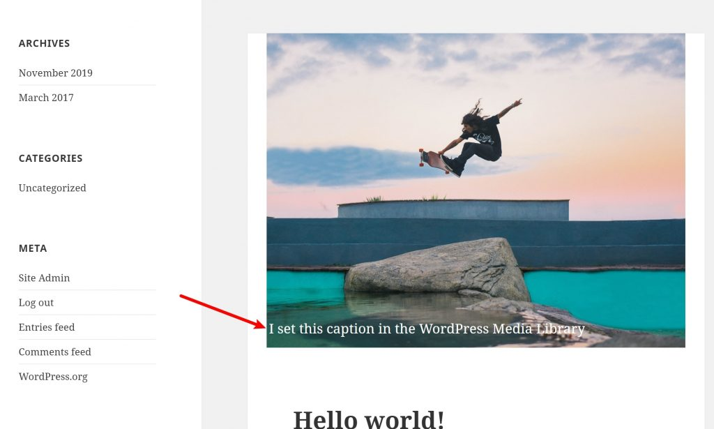 How to Add Text Over Featured Images in WordPress