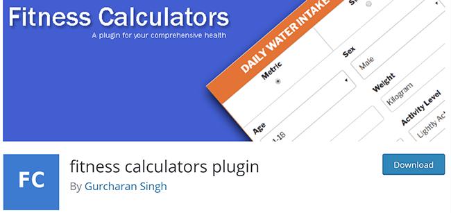 fitness calculators