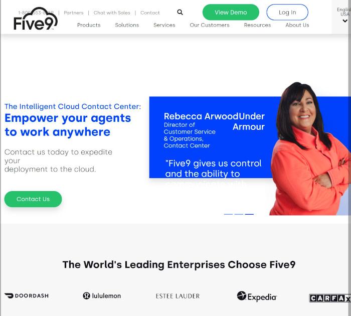Best call center software: Five9