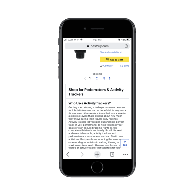 How To Increase Mobile Conversions With Category Page Design — Smashing Magazine