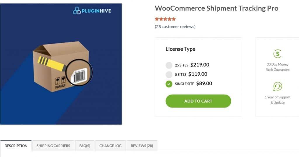 WooCommerce Order Tracking pro