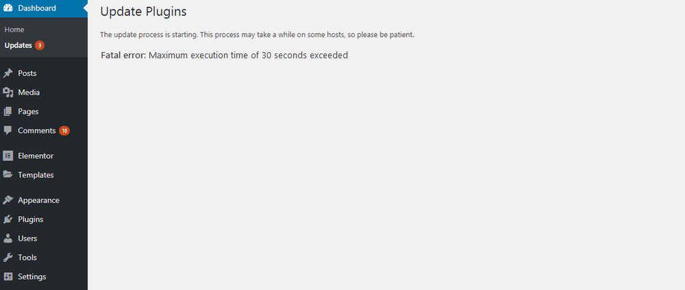 How To Fix 'Fatal Error Maximum Execution Time Exceeded' WordPress Error