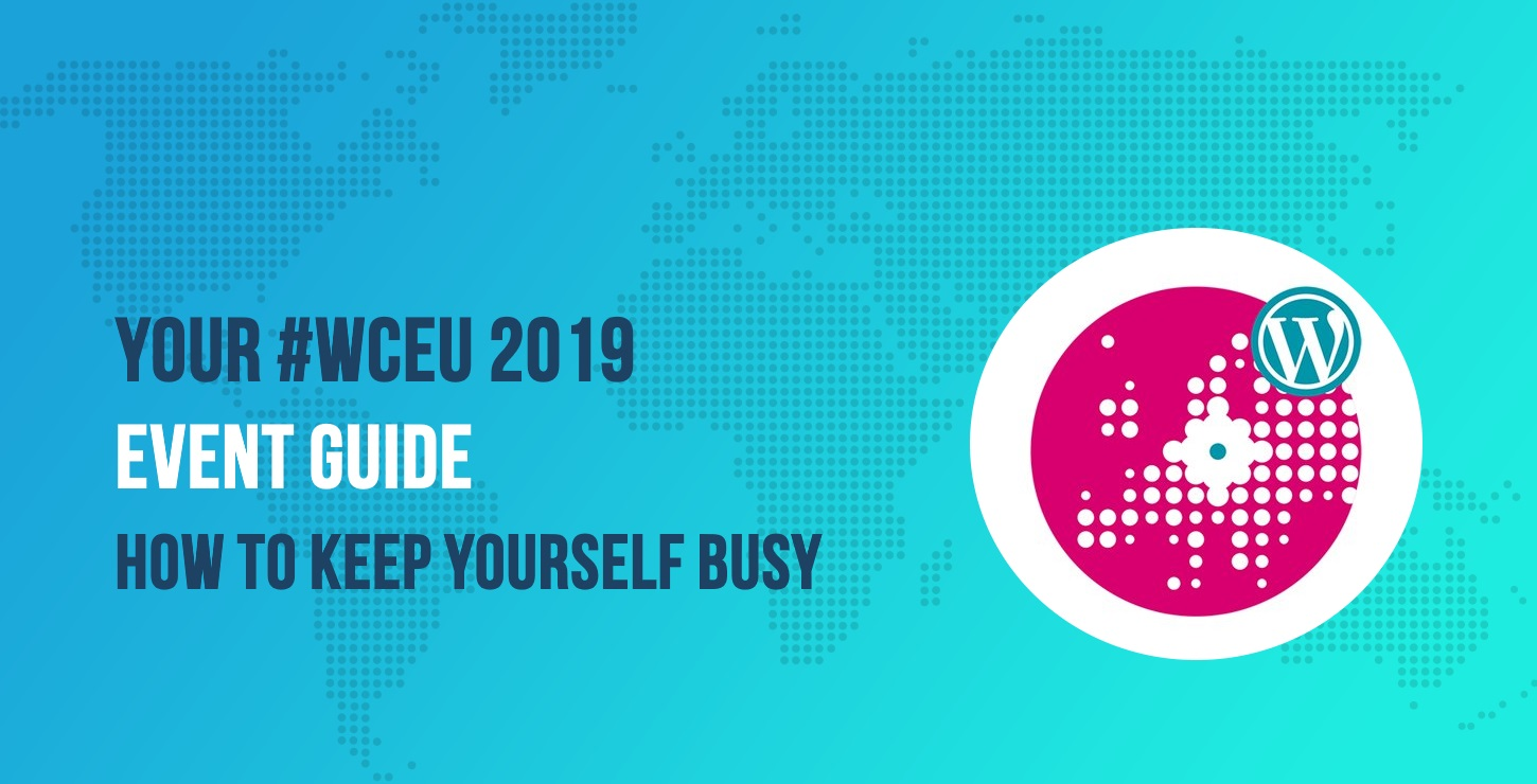 Your #WCEU 2019 Event Guide
