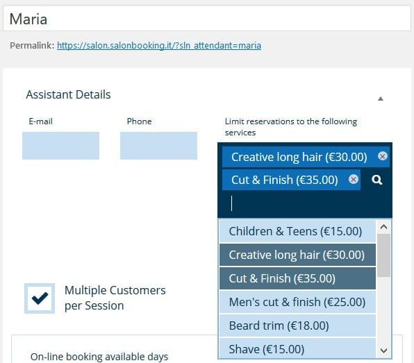 WordPress Salon Appointment Booking Plugin